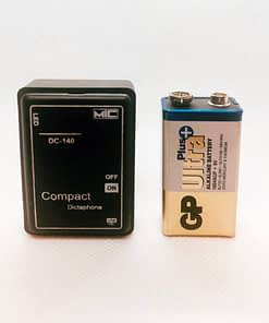 dc140 mini hangrögzítő lehallgató készülék